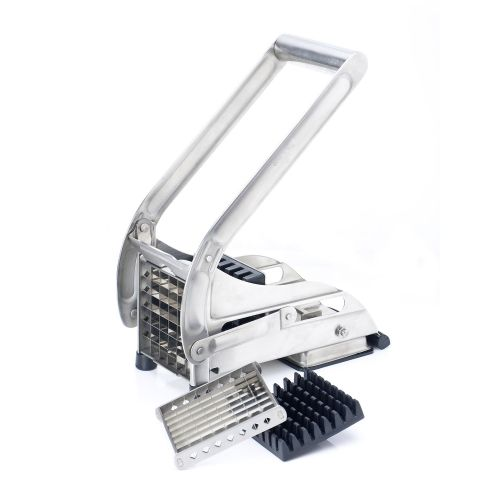 Professional Stainless Steel Twin Blade Potato Chipper