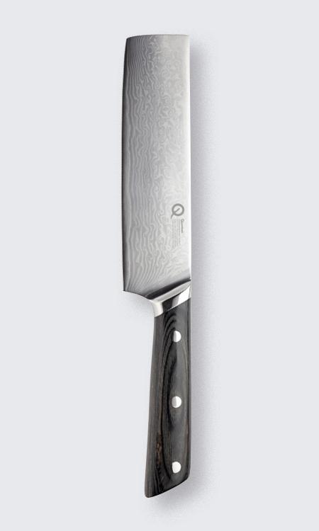 Quantum Damascus Nakiri Knife